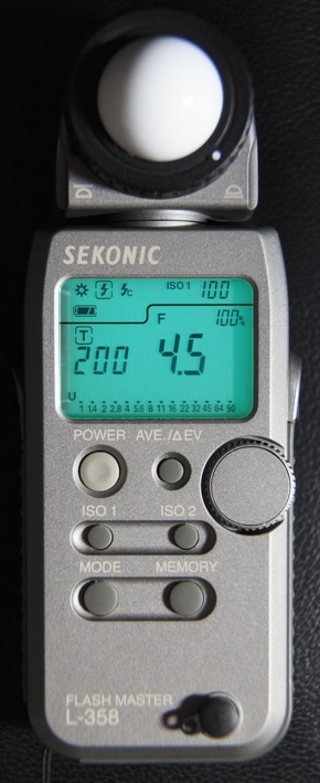 Flashmètre Sekonic