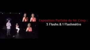 Exposition parfaite du premier coup : 3 Flash & 1 Flashmètre