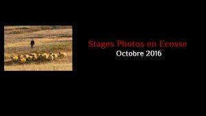 Stages Photos en Ecosse - Octobre 2016
