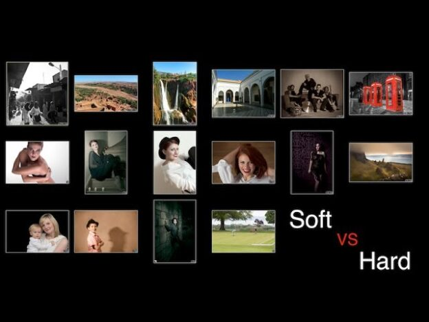 difference between soft and hard light