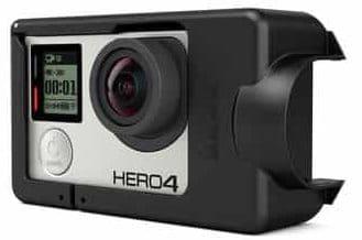 La GoPro Hero4 dans le harnais Karma