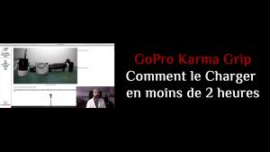 Comment Charger ton GoPro Karma Grip en moins de 2 Heures