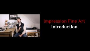 Introduction à l'Impression Fine Art (Beaux-Arts)