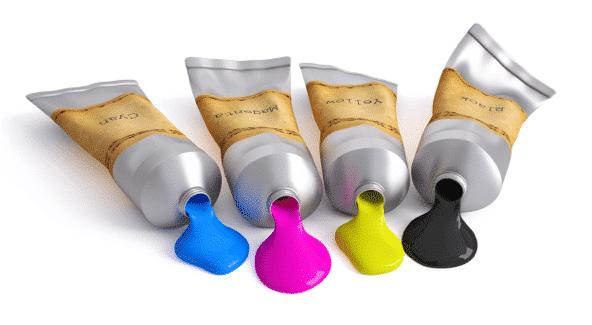 Le modele colorimétrique CMJN se comporte comme des tubes de peinture