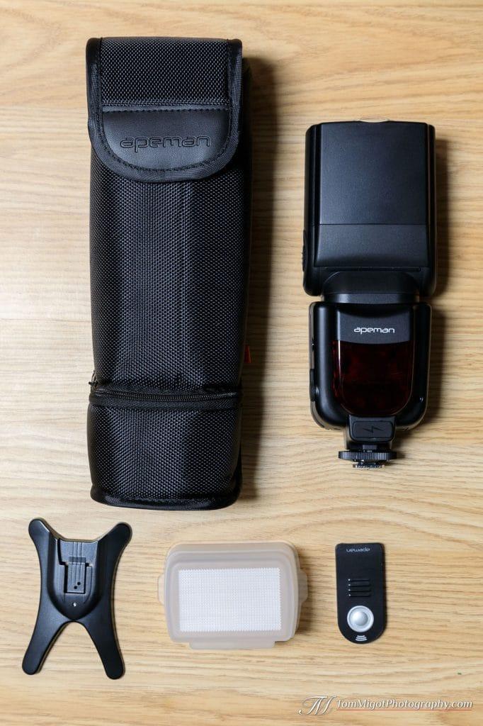 Apeman SL350 et son étui de protection