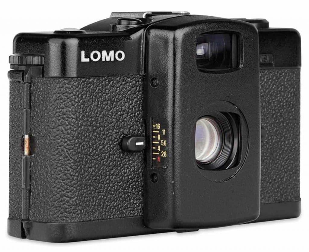 Réglage d'ouverture sur l'appareil photo LOMO LC-A