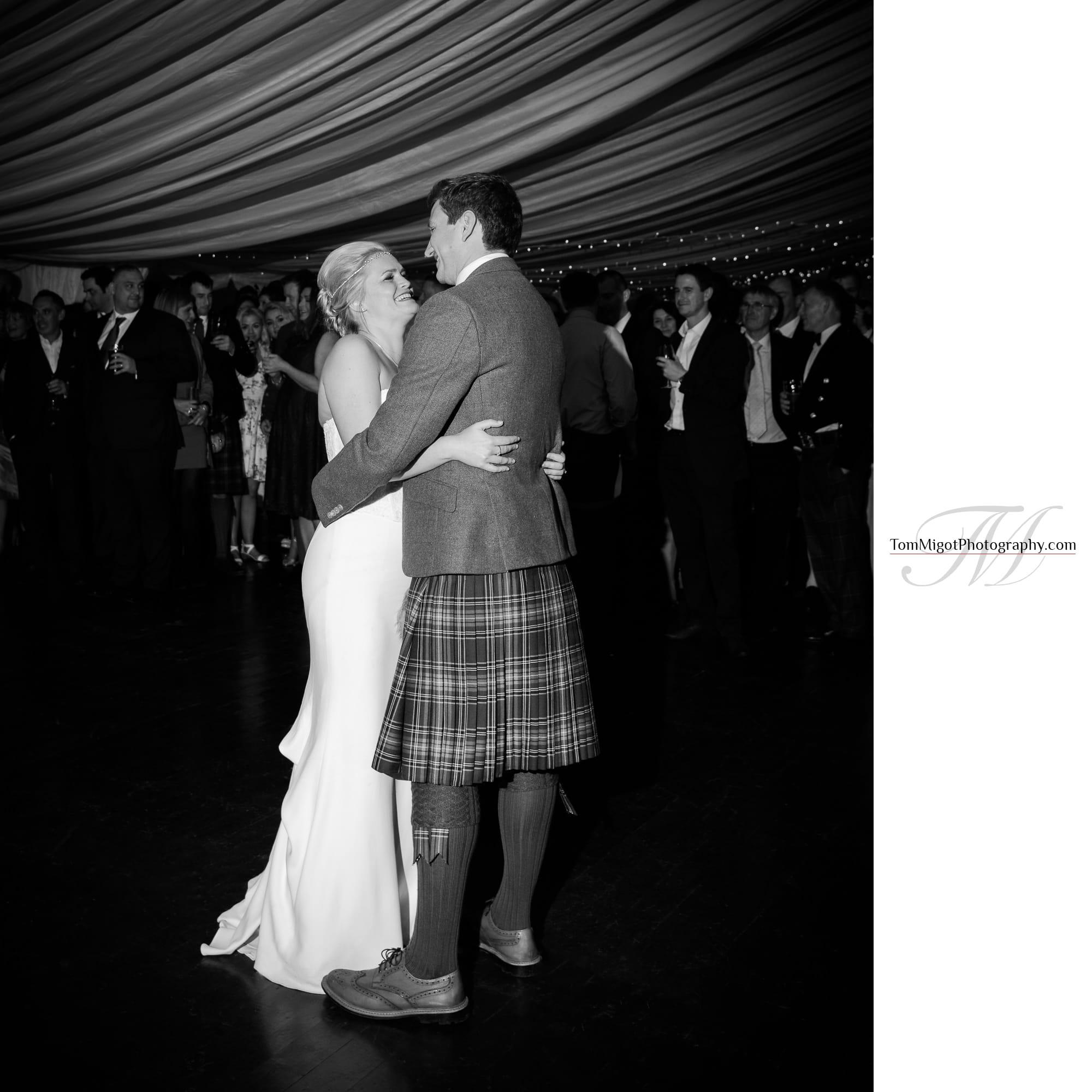 La première dance des mariés