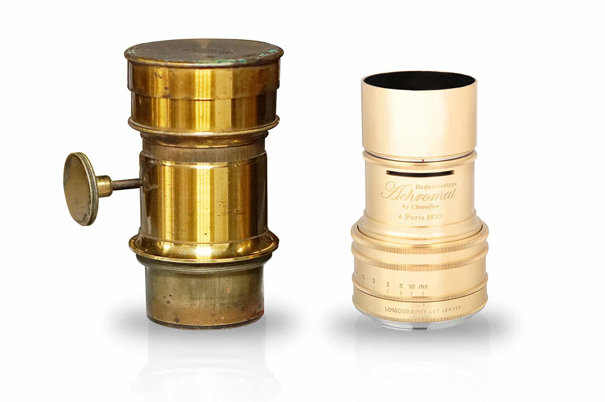 L'Achromat de Chevalier (1839) & l'Achromat de Lomography (2016)