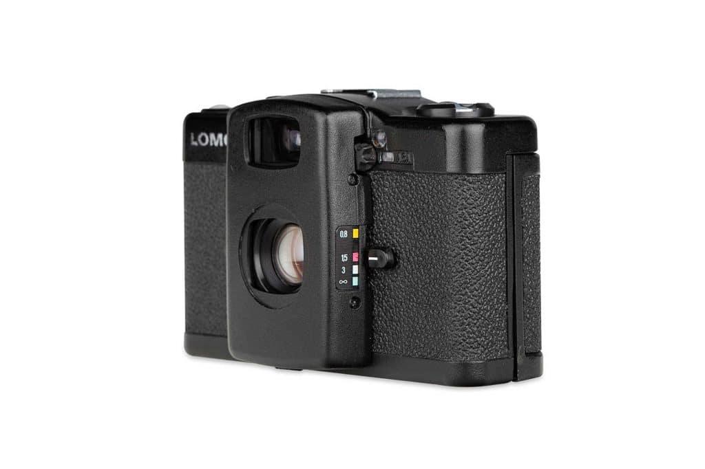 L'echelle des distances sur l'appareil photo LOMO LC-A