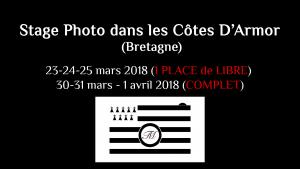 Stage Photo dans les Côtes d'Armor (Bretagne, France) - Mars 2018