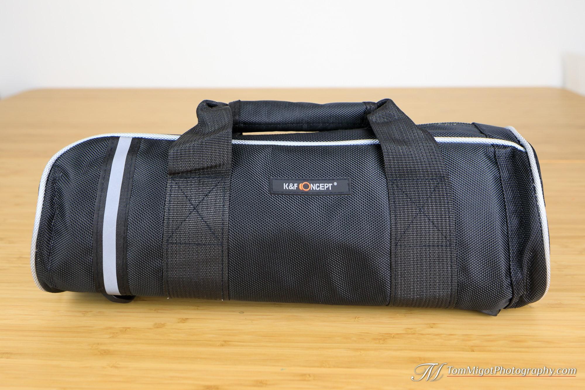 Le sac du trépied de voyage K&F Concept TM2515
