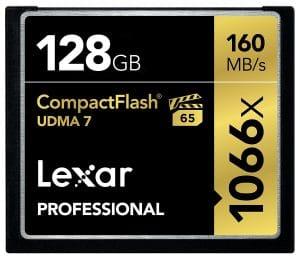 Ma carte CF Lexa Professional 128Go