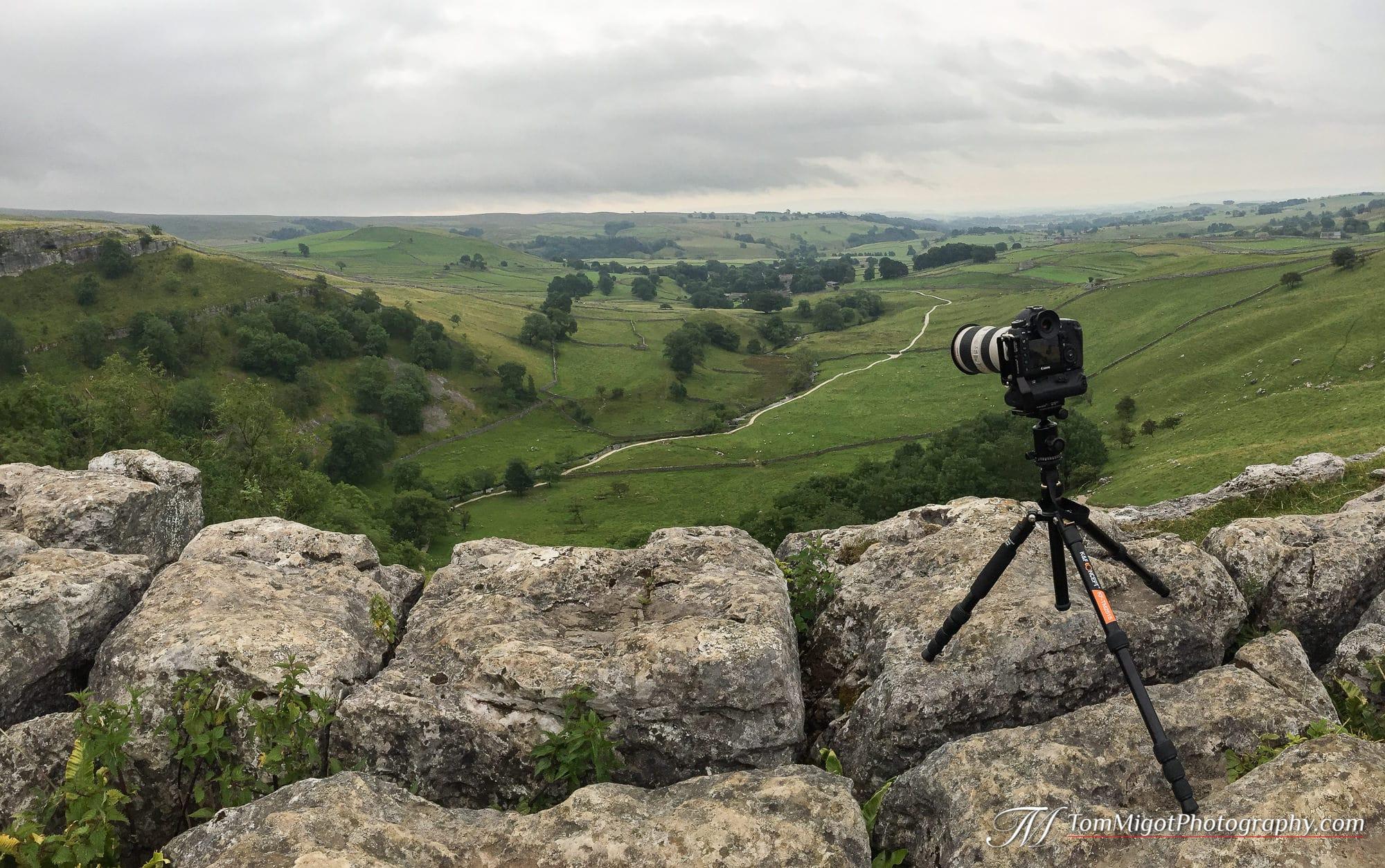 Test du trépied K&F TM2515 dans le parc du Yorkshire en Angleterre