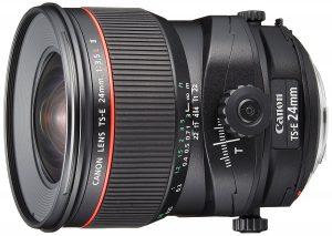 Mon Canon 24mm TS-E L II (Tilt-Shift)