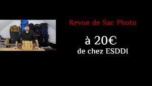 Revue de Sac Photo: Le sac à bandoulière de chez ESDDI