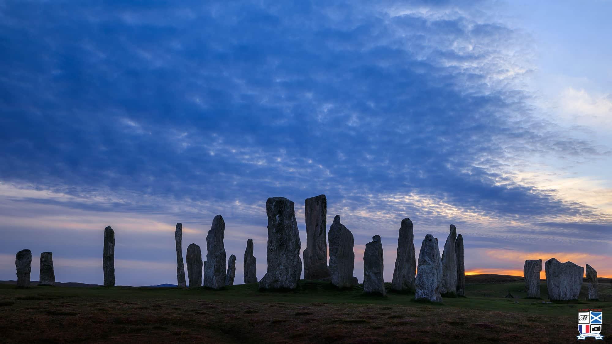 cercle de pierres mégalithiques de Callanish