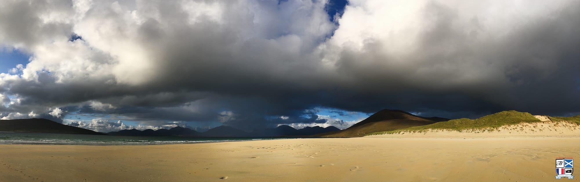 La belle plage de luskentyre sur Harris