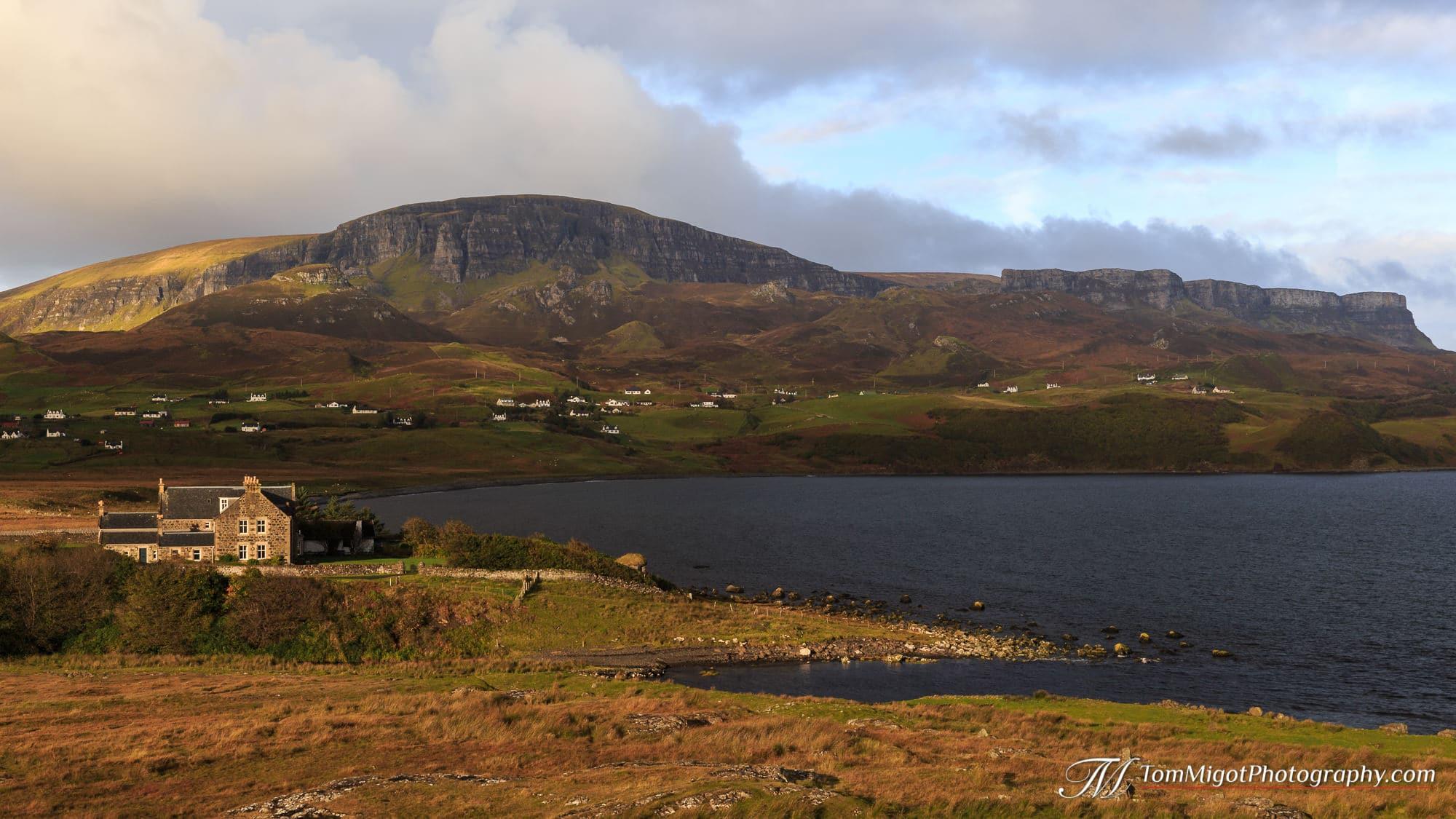 Le Quiraing sur l'Ile de Skye en Ecosse photographié à l'automne