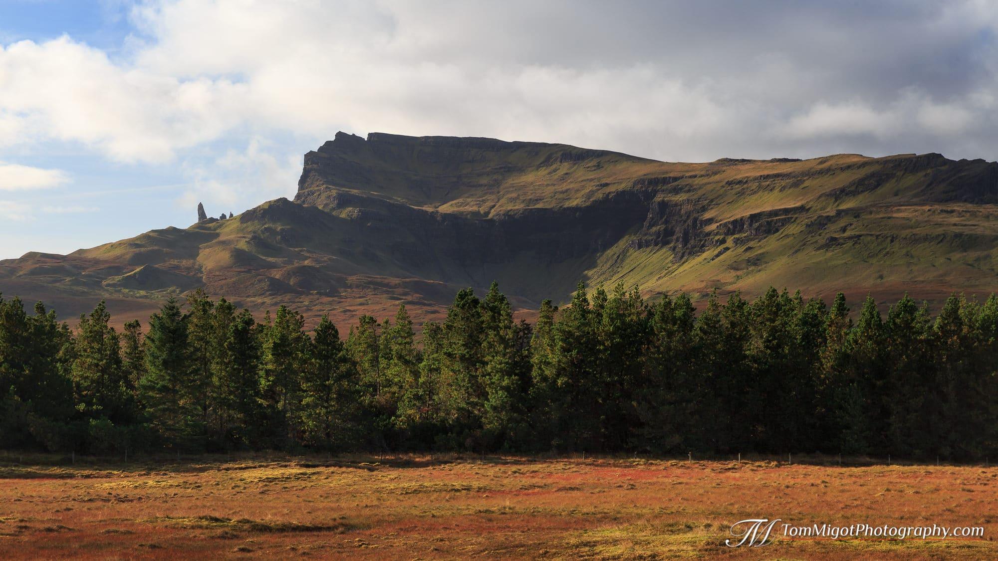 Le Old Man of Storr sur l'Ile de Skye en Ecosse photographié à l'automne