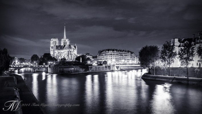 Photo of Notre Dame cathedral in Paris France