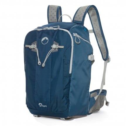 Blue Lowepro Flipside Sport 20L AW bag pack