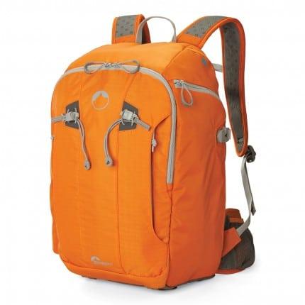 Orange Lowepro Flipside Sport 20L AW bag pack