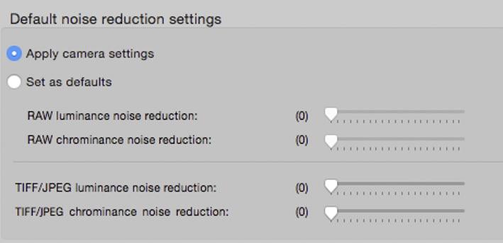 Canon DPP et la réduction du bruit